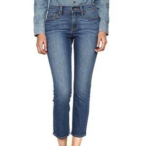 Lucky Brand Sofia Capri Blue Denim Jeans 0 25